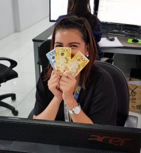 Account Manager receives spot incentive