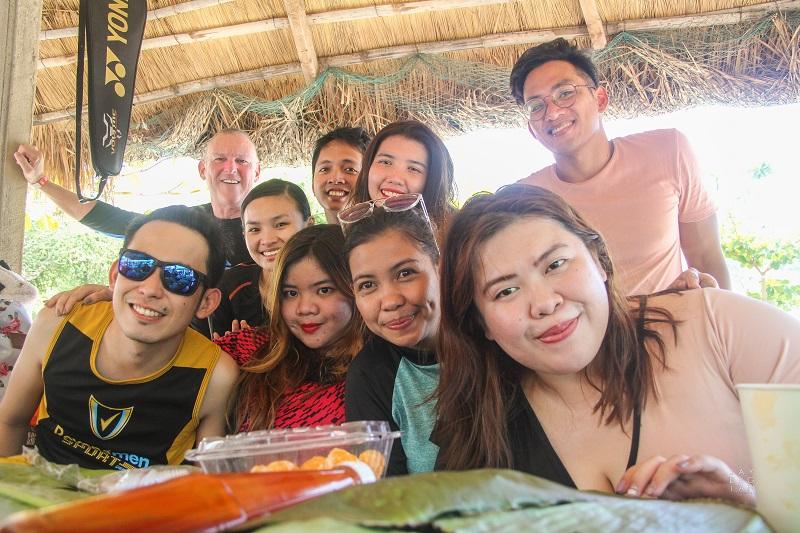 BPO Culture Team at the beach