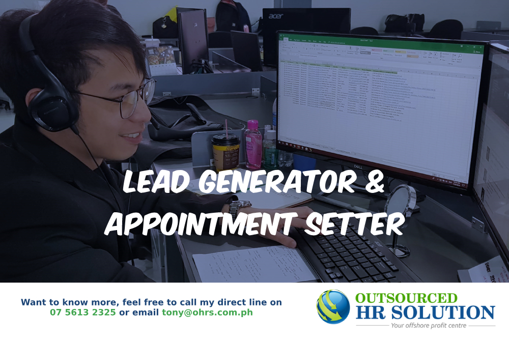 Lead Generator Appointment Setter