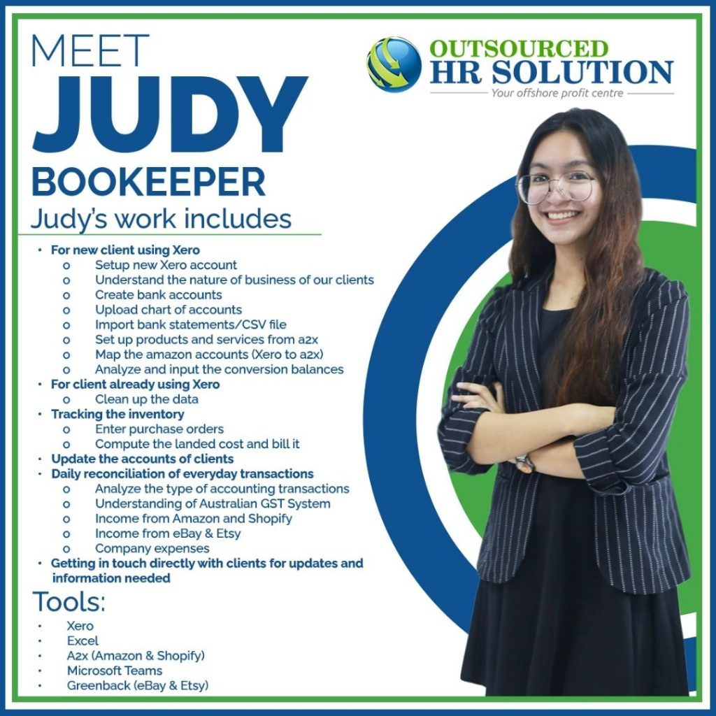 Jud, Bookkeeper
