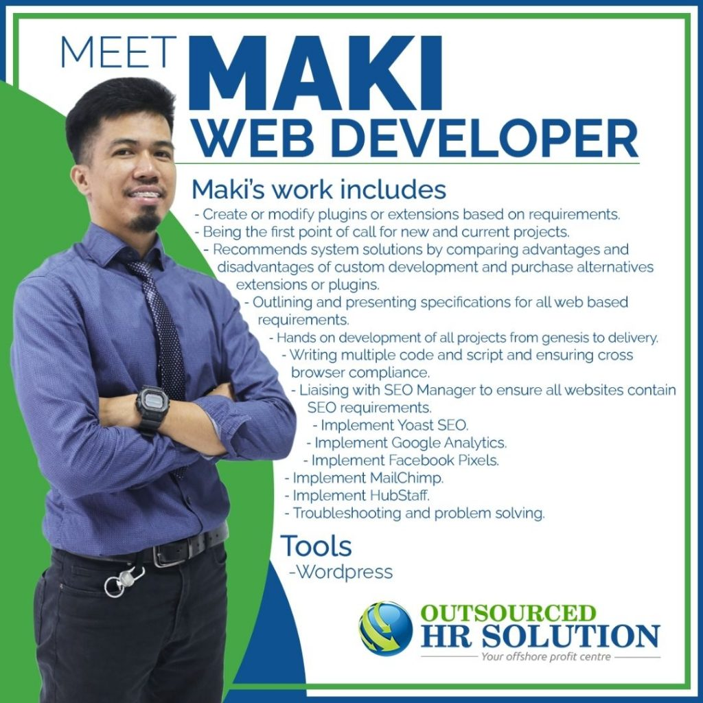 Maki - Offshore Web Developer